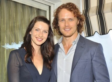 Caitriona Balfe & Sam Heughan al Party di Vanity Fair per i BAFTA LA
