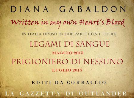 Il nuovo libro di Diana Gabaldon in Italia